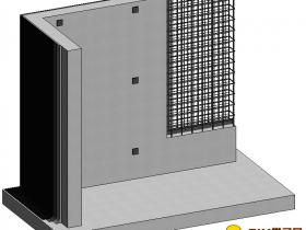 工艺质量样板族文件:剪力墙工艺样板做法rfa格式免费下载