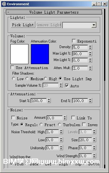 3ds Max创建容积光效果教程
