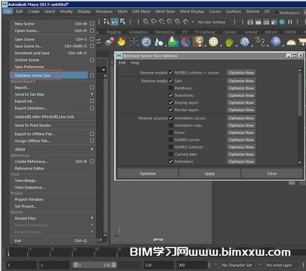 Maya动画用平台渲染:做好这几个工作减少渲染费