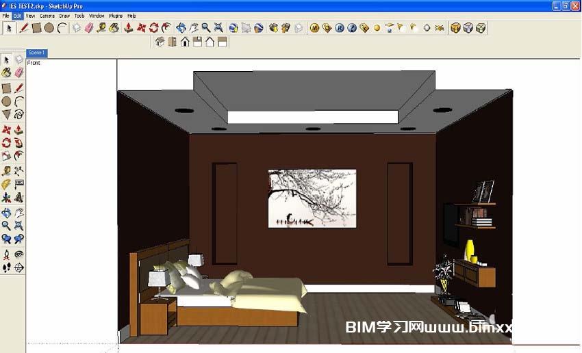 SketchUp渲染文件的方法