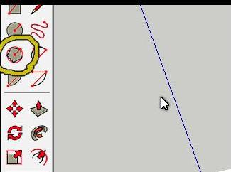 草图大师SketchUp画八边形的方法
