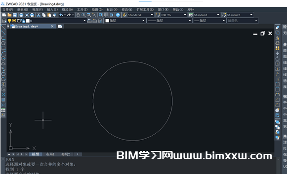 CAD操作小技巧:圆弧秒变圆