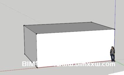 Sketchup软件中如何进行物体标注尺寸和文字描述?