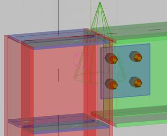 如何进行Tekla基础梁柱连接自定义节点设置
