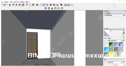 SketchUp设置相机角度和高度的方法