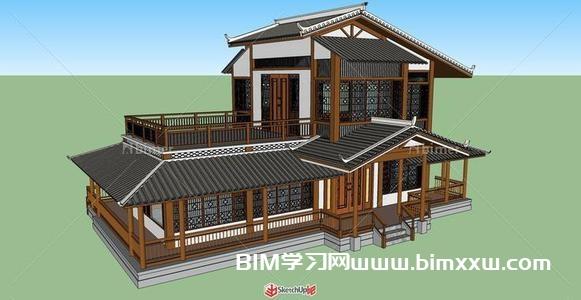 BIM技术正向设计案例:双层茶楼建筑设计中的应用