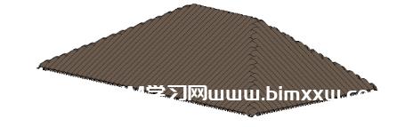 Revit使用幕墙巧绘瓦片屋顶的小技巧