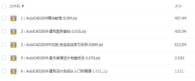 AutoCAD2009版中文基础视频教程