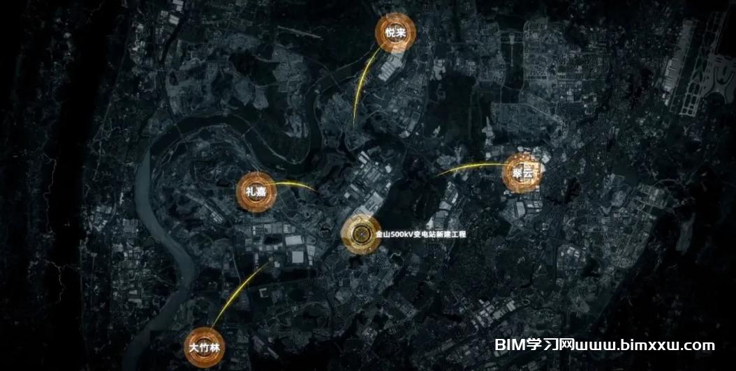 BIM应用案例分享:金山500KV变电站新建工程BIM应用汇报