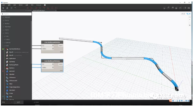 怎么用Dynamo进行管道建模?Dynamo长距离输送管道(焊接)建模