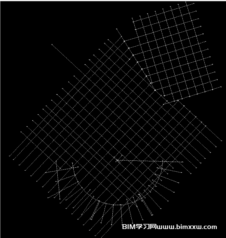 Revit中如何快速提取标高轴网?