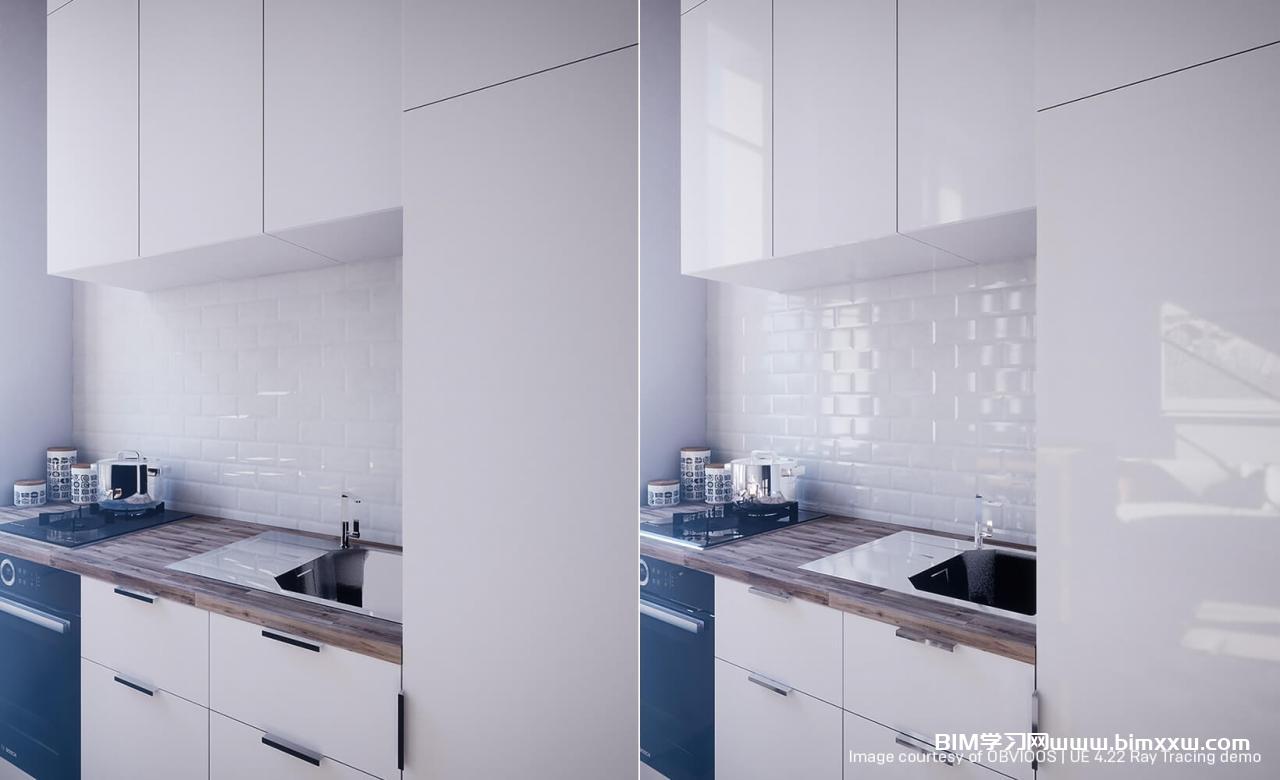 虚幻引擎Twinmotion中的实时光线追踪之建筑可视化