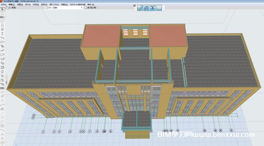 山东德建集团装配式办公楼项目BIM技术综合应用