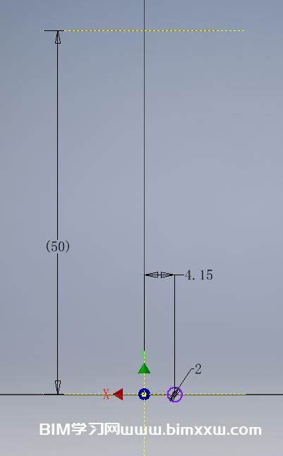 如何用Inventor创建一个简易的弹簧伸缩模型?